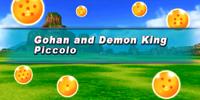 Gohan and Demon King Piccolo