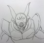 Masked King of Destruction Baby Janemba