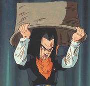 Android17AboutToBeAbsorbedByCell