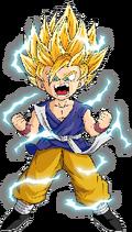 Kid Goku SSJ2