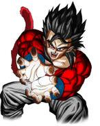 Gohan Super Saiyan 4 by Giku7L