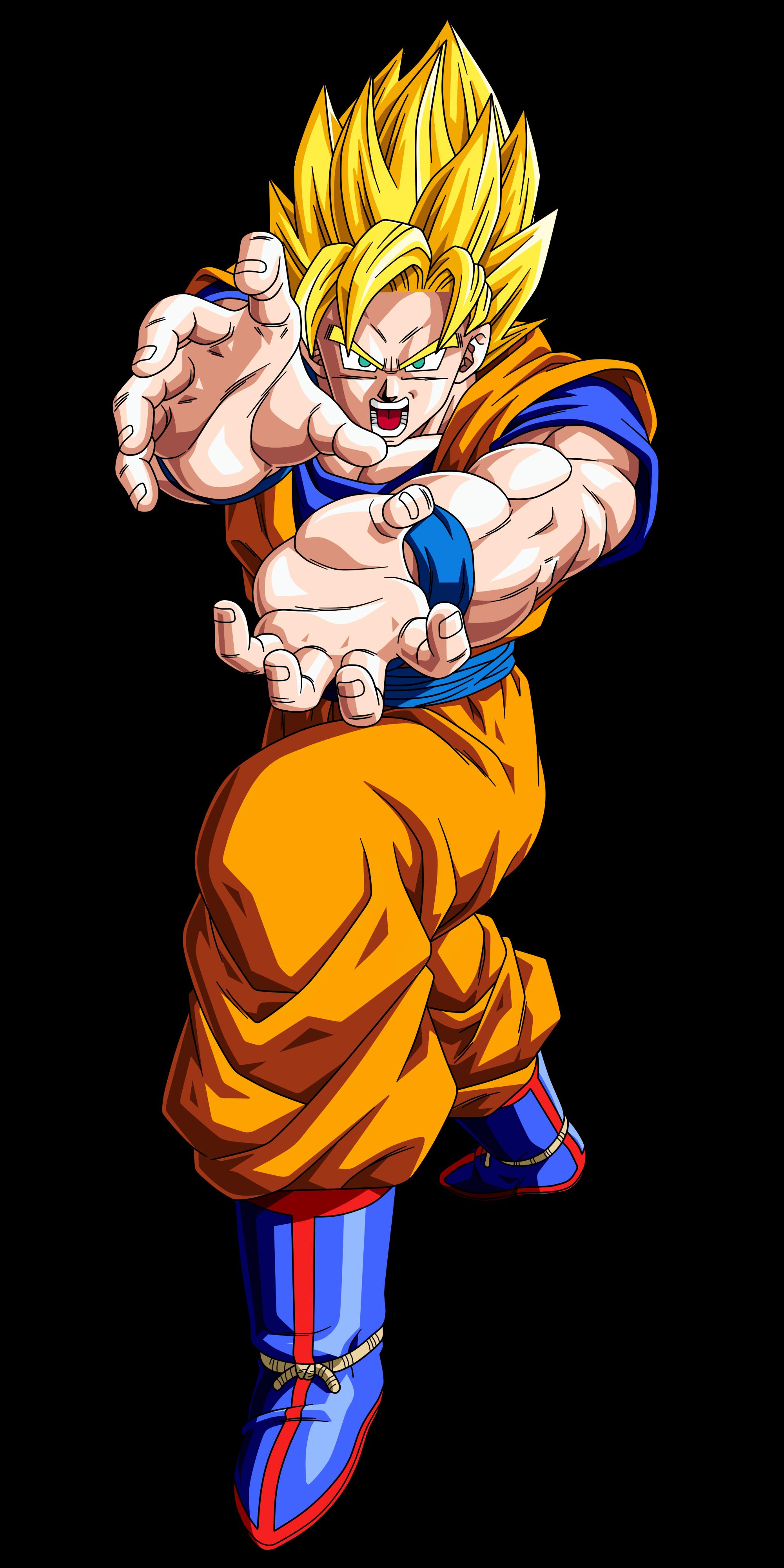 Imagen  Goku ssj alivepng  Dragon Ball Fanon Wiki  FANDOM