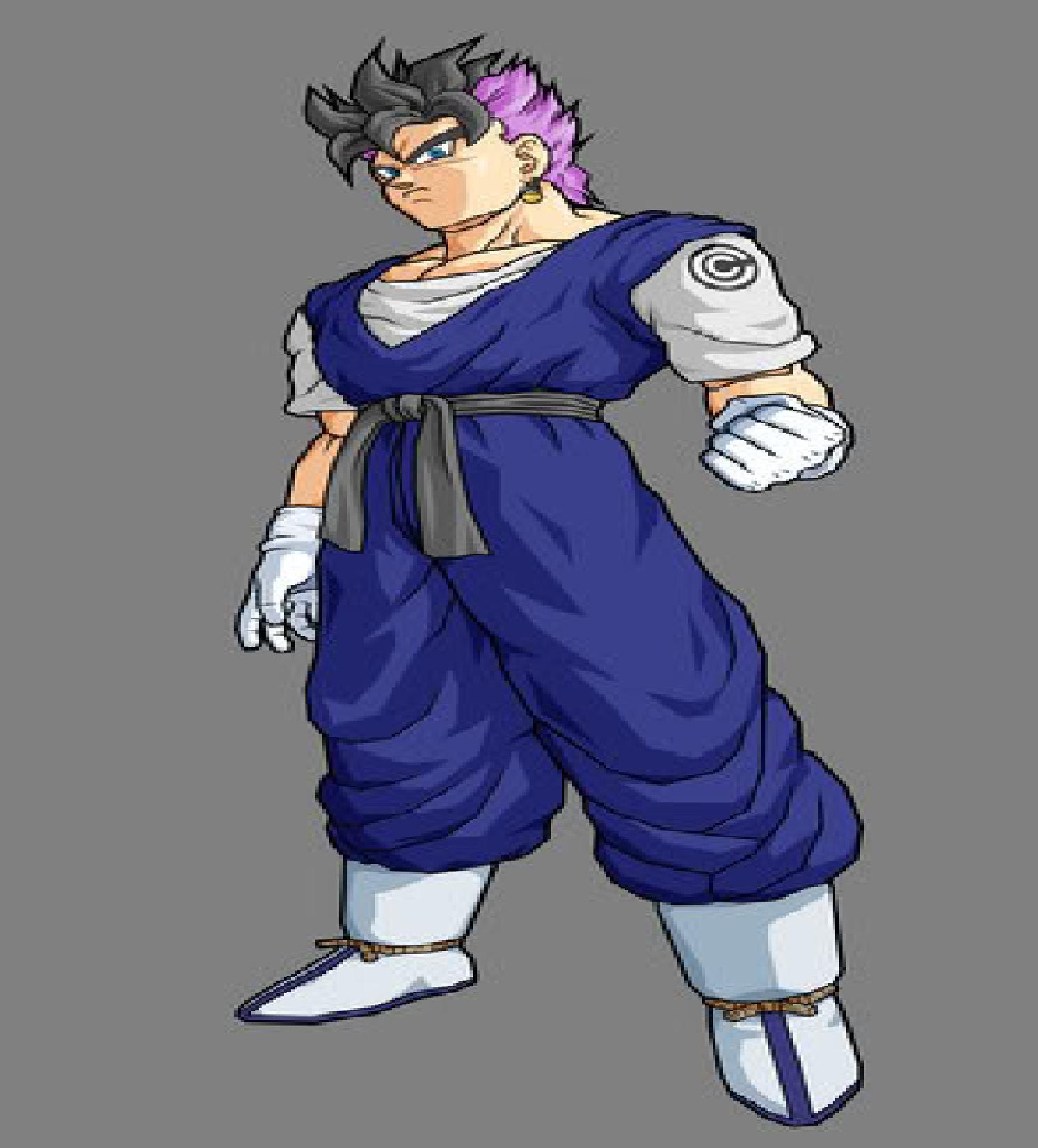 Image - Gohan and Future Trunks fusion.jpg   Dragonball ... Gohan And Vegeta Fusion