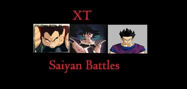 Saiyan battles