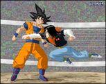 Dragon Ball Multiverse(Goku) Avoiding Android 17