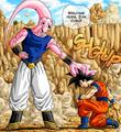 Buu and Goku U4