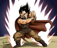 Dragon Ball Multiverse(King Vegeta) Galick Gun