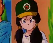 Videl in baseball field at gym class in high school