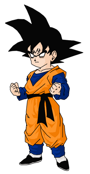 Majin Goten by darkhawk5