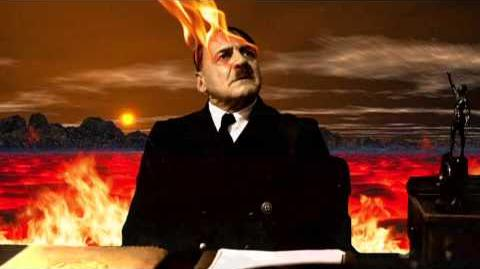 Hitler is informed that the world is ending