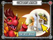 Dragon Cards Congratulations