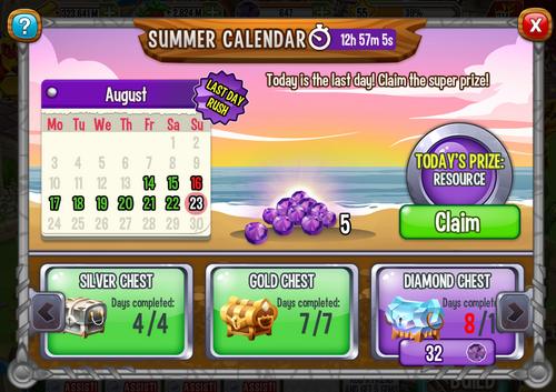 Summer Calendar day10