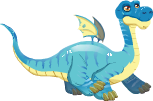 Brontosaurus Dragon 2