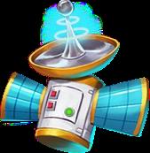 Alien Invasion Space Trip Satelite