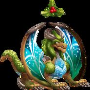 Mistletoe Dragon 3