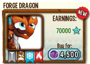 Forge dragon in store