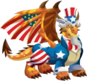 Uncle Sam Dragon 3