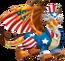 Uncle Sam Dragon 3