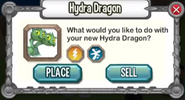 Hatching Hydra