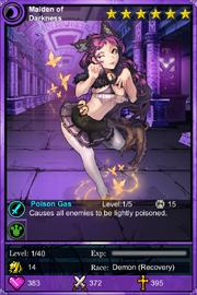 Maiden of darkness