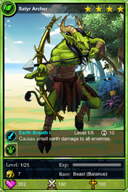 Satyr Archer