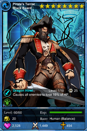 Pirate's Terror Blackbeard