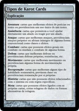 Karot Card Types