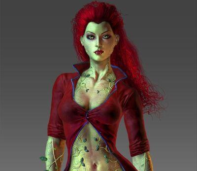 Poison Ivy Render