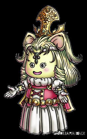 File:DQX - Queen Aruu~e.png