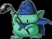 DQVII3DS - Nutty professor