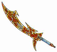 DQII Lightning Sword