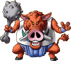 File:DQVII3DS - Hell hog.png