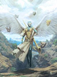 Anjo da mascara