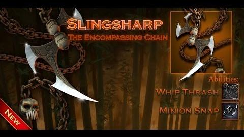 Weapon Info Slingsharp, the Encompassing Chain