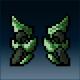 Sprite armor plate jade feet