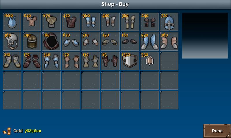 Shop 4 shadow armor