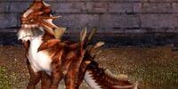 Blood Rage Elegant Dragon