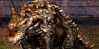 Brawny Sandshell Dragon