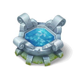 Dragon Watering TroughDecor