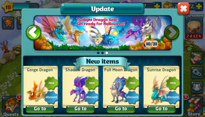 Twilight Dragons Update