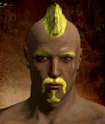 Yellow Haird Dye