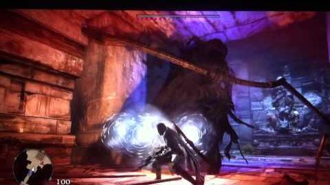 Dragon's Dogma Dark Arisen - Mystic Knight Vs. Death