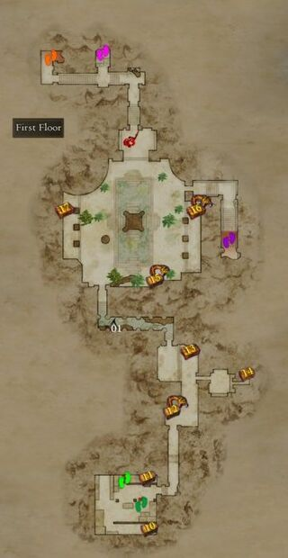 Map Garden of Ignominy 1st floor.png