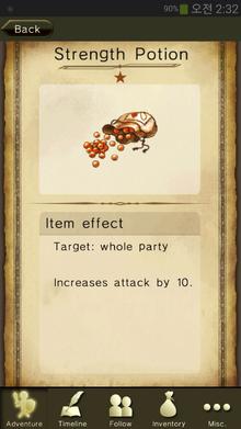 Strength Potion
