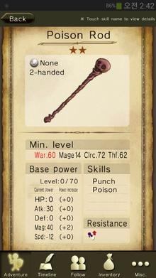 Poison Rod