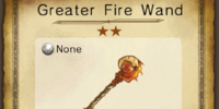 Greater Fire Wand