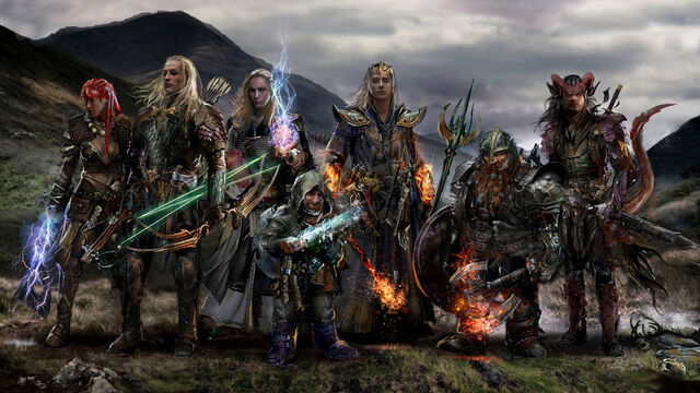 File:Dungeons and dragons party by uncannyknack-d7j7l0r.jpg