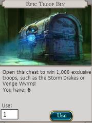 Epic Troop Bin