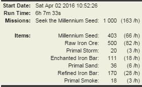 1000 seek the milennium seed Tyche