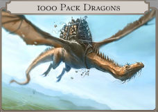 1000 Pack Dragons icon